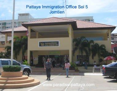 pattaya jomtien immigration