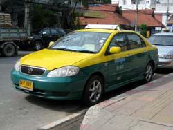 bangkok to pattaya standard taxi