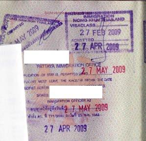 visa runs pattaya