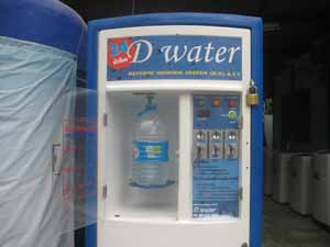 drinking water for your health in thailand